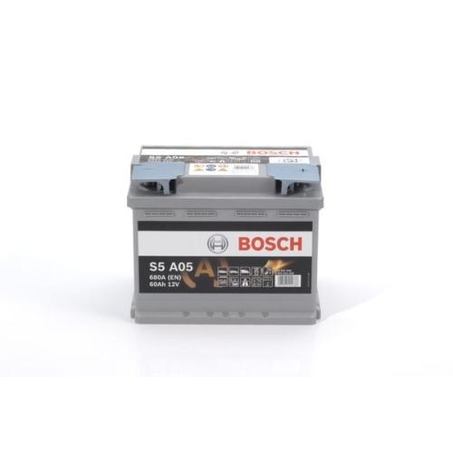 1 Starterbatterie BOSCH 0092S5A050 S5A für AUDI BMW CITROËN MERCEDES-BENZ OPEL