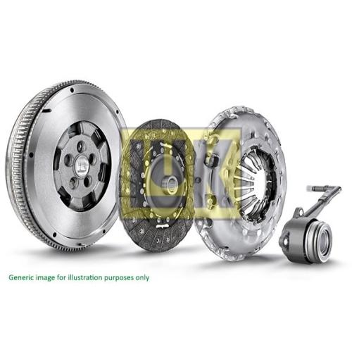 Kupplungssatz Luk 600 0064 00 Luk Repset Dmf für Renault
