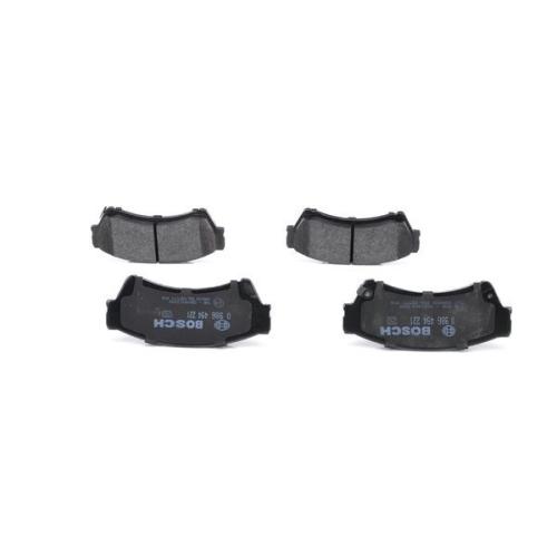 4 Bremsbelagsatz Scheibenbremse Bosch 0986494221 für Mazda