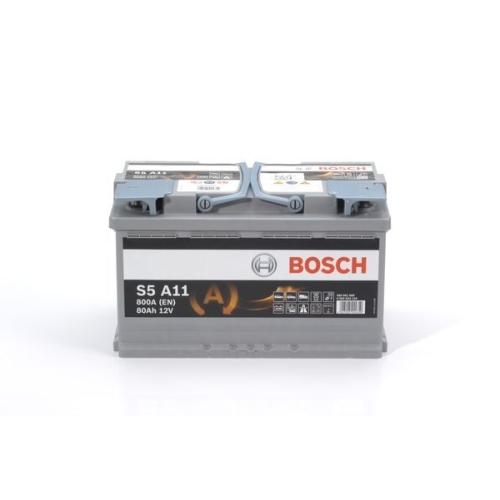 Starterbatterie Bosch 0092S5A110 S5a für Audi Bmw Chrysler Ford Jaguar Nissan VW