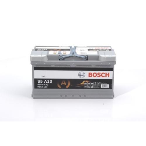 1 Starterbatterie BOSCH 0092S5A130 S5A für ALFA ROMEO AUDI BMW DAF FIAT FORD VW