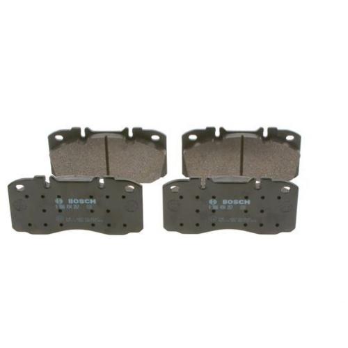 4 Bremsbelagsatz Scheibenbremse Bosch 0986494257 für Iveco Vorderachse