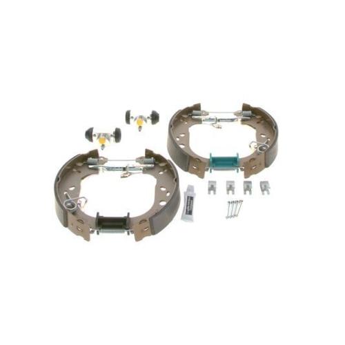 1 Bremsbackensatz BOSCH 0204114656 KIT SUPERPRO für, Hinterachse