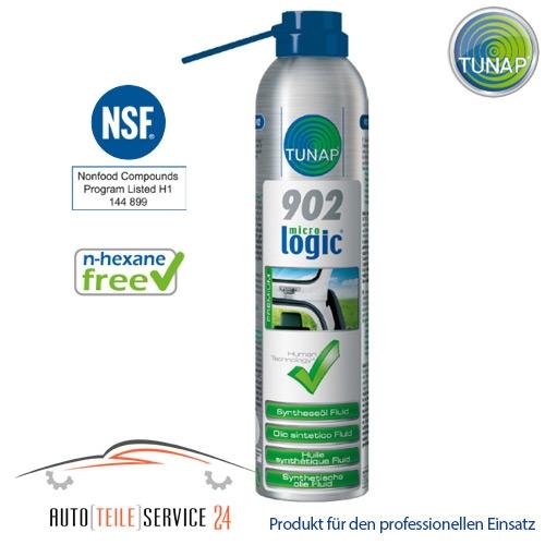 Tunap 902 Syntheseöl Fluid 300ml - Innovatives, synthetisches Aktiv-Öl zur Langzeitschmierung. Eignet sich optimal für alle beweglichen, metallischen Bauteile. Ideal auch für Feinmechanik und Präzisionsbauteile, da kein Verharzen und Verkleben eintritt.