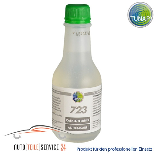 Tunap 723 I425 025X 250ml Kalkablagerungen Konzentrat zum Reinigen und Desinfizieren