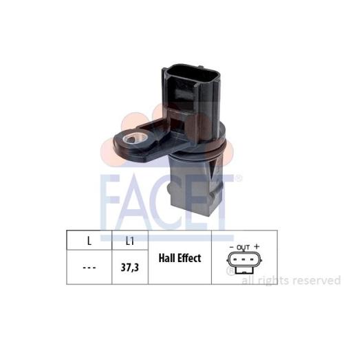 Sensor Drehzahl Facet 9.0498 Made In Italy - Oe Equivalent für Ford Jaguar