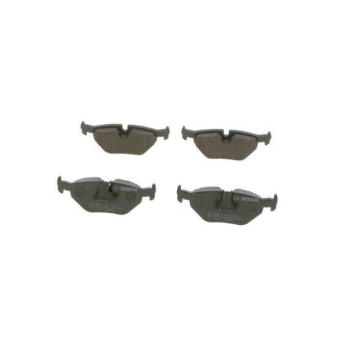 Bremsbelagsatz Scheibenbremse Bosch 0986494009 für Bmw Hinterachse