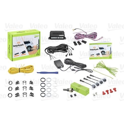 Einparkhilfe Valeo 632200 für Hinten Vorne Für Fahrzeuge Mit Anhängevorrichtung