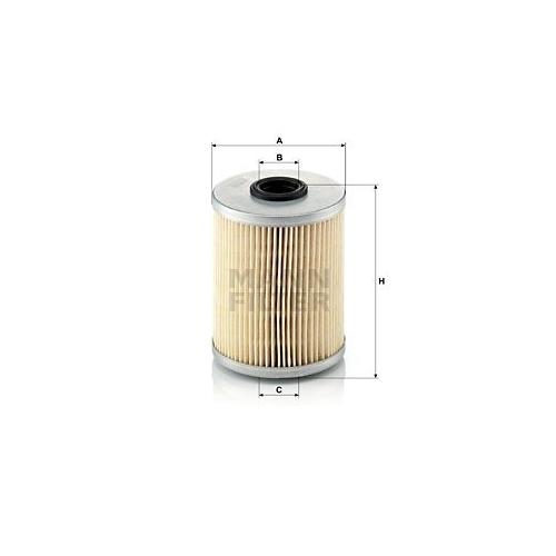 1 Kraftstofffilter MANN-FILTER P 718 x für NISSAN OPEL RENAULT RENAULT TRUCKS