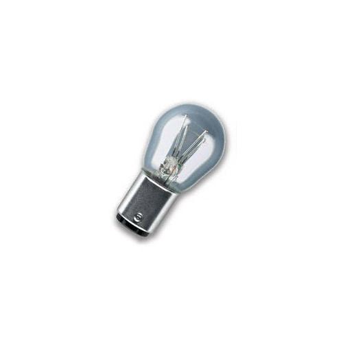 1 Glühlampe, Blinkleuchte OSRAM 7528 ORIGINAL für, Stoßfänger, hinten, unten