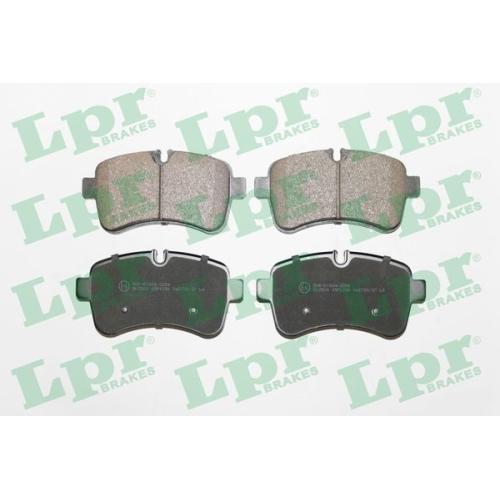 Bremsbelagsatz Scheibenbremse Lpr 05P1296 für Iveco Hinterachse