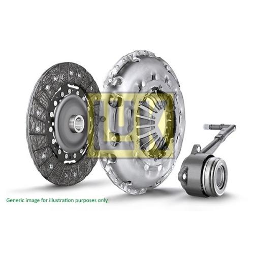 Kupplungssatz Luk 624 3358 34 Luk Repset Pro für Fiat Lancia