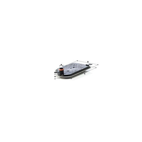 Hydraulikfilter Automatikgetriebe Mann-filter H 2826 KIT für Vag