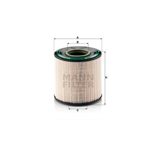 Kraftstofffilter Mann-filter PU 1040 x für Vag