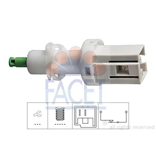 1 Bremslichtschalter FACET 7.1068 Made in Italy - OE Equivalent für ALFA ROMEO