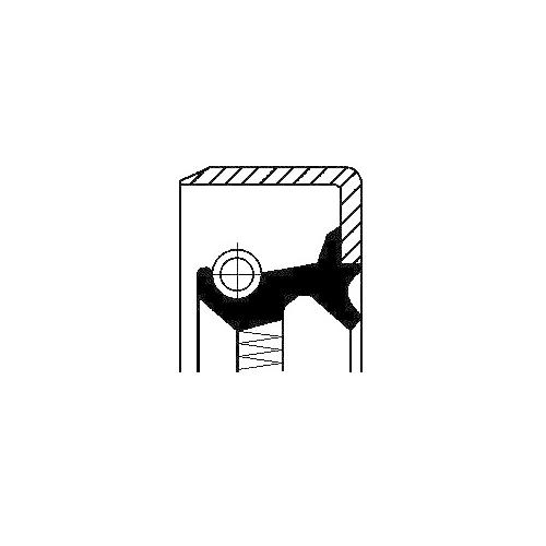 Anello Di Tenuta Corteco 12013105B per Fiatallis Graziano Trasmissioni