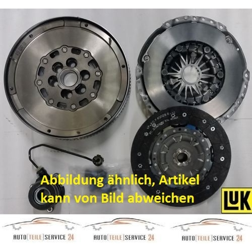 LuK Clutch Kit LuK RepSet DMF, for engines with dual-mass flywheel