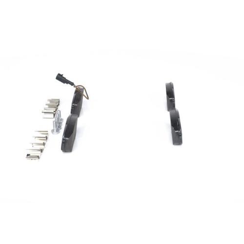 4 Bremsbelagsatz, Scheibenbremse BOSCH 0986424596 für ALFA ROMEO CITROËN FIAT