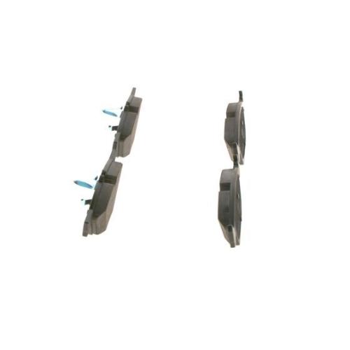 4 Bremsbelagsatz, Scheibenbremse BOSCH 0986494001 für CHRYSLER DODGE