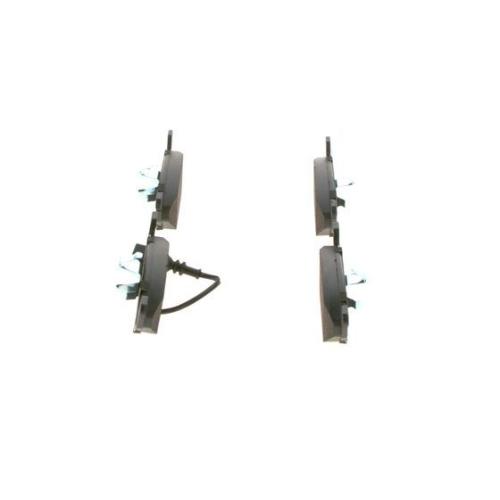 4 Bremsbelagsatz, Scheibenbremse BOSCH 0986494019 für AUDI SEAT SKODA VW